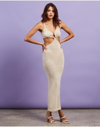 Dazie - Italian Sun Knit Maxi Dress