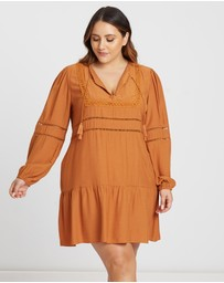 The Fated Curve - Wild World Long Sleeve Dress