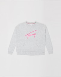 Tommy Hilfiger - Essential Signature Sweater - Teens