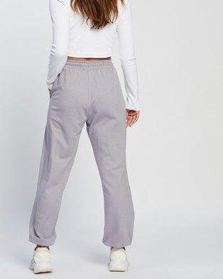 Missguided 90S Oversized Joggers - Sweatpants (Lilac)