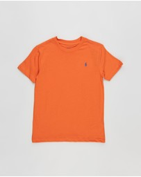Polo Ralph Lauren - Short Sleeve Crew Neck T-Shirt - Kids