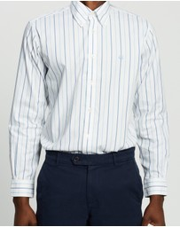 BROOKS BROTHERS - Regent Fit Stretch Pinpoint Shirt