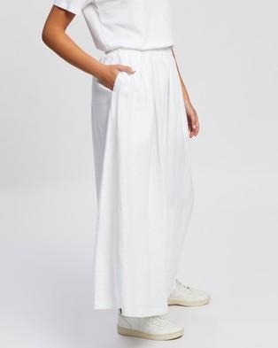Assembly Label Noma Linen Skirt - Skirts (White)