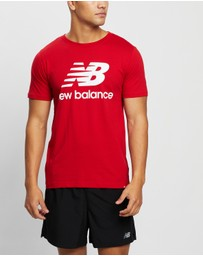 New Balance - NB Essentials Stacked Logo Tee