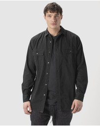 Zanerobe - Denim Work LS Shirt