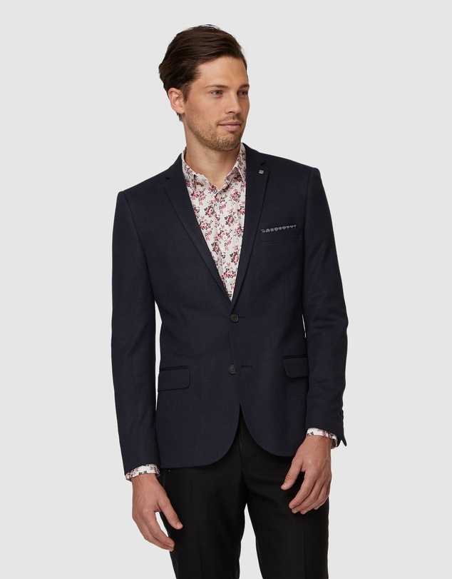 Jack London - Navy Bradshaw Blazer