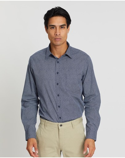 Rodd & Gunn Moores Valley Sports Fit Shirt Indigo