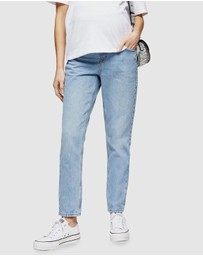 TOPSHOP Maternity - Mom Bleach Maternity Jeans