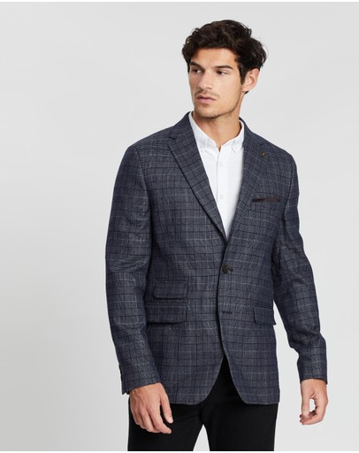 Burton Menswear - Highlight Powder Check Blazer