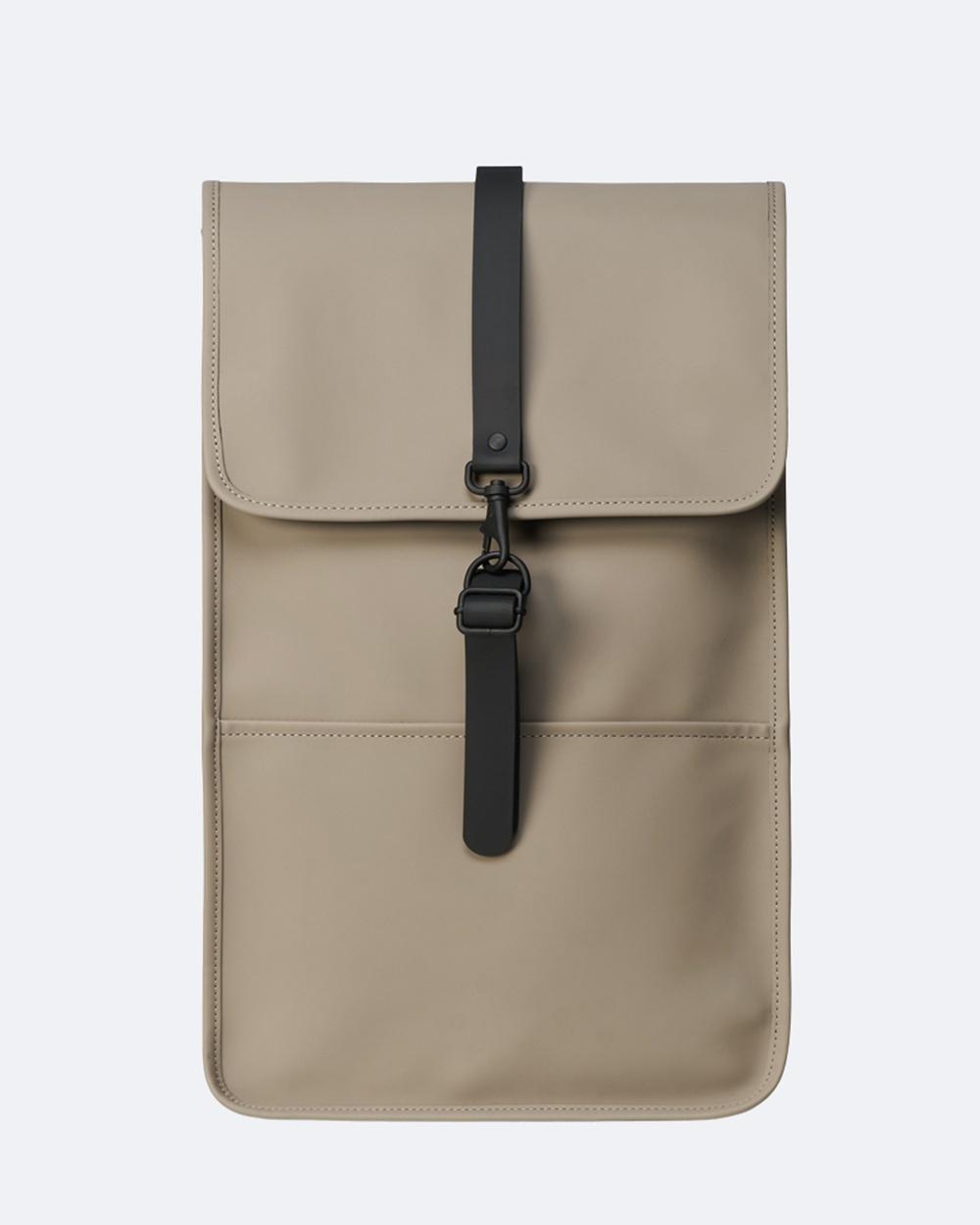RAINS Backpack Backpacks Taupe