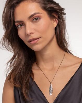 THOMAS SABO Pendant Feather - Jewellery (Silver)