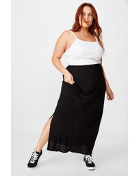 Cotton On Curve - 90s Slip Skirt