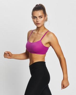 Nike Indy Luxe Bra - Crop Tops (Cactus Flower & Beyond Pink)