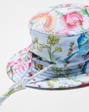 Bebe by Minihaha Peony Swim Hat   Babies - Hats (Peony Blue)
