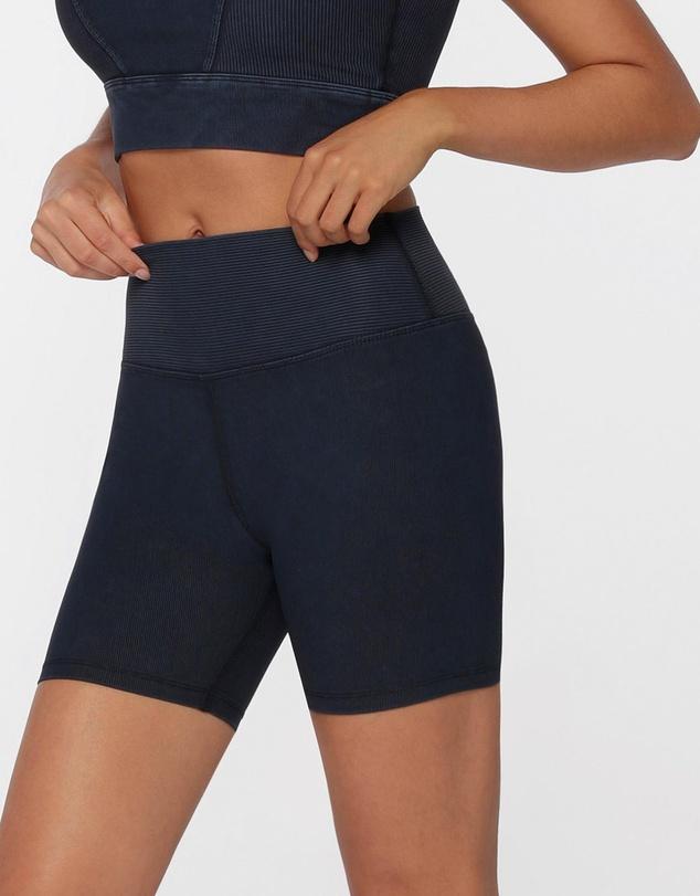 Women Ultimate Rib Bike Shorts