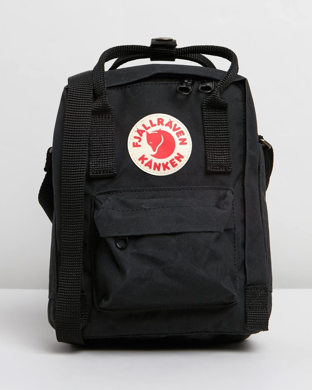 Fjallraven Kanken Sling Bags Black Australia