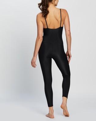 Onzie Rib Leotard - Dresses (Black)