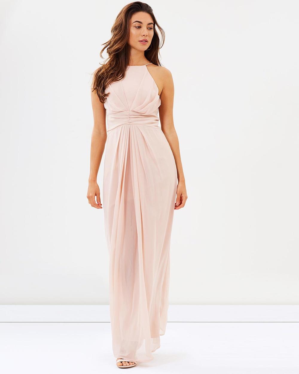 Esther Gardenia Dress Bridesmaid Dresses Blush Gardenia Dress