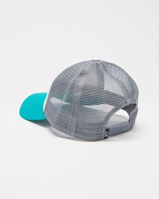 The North Face Mudder Trucker Cap - Headwear (Jaiden Green & Lagoon)