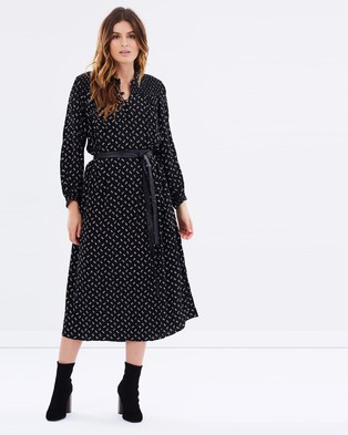 Current/Elliott – Willow Shirt Dress Frosted Flowers