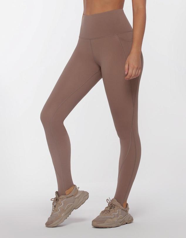 Women Phone Pocket Stirrup Leggings