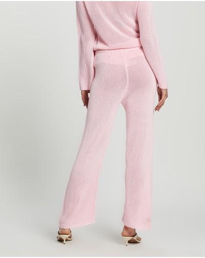 Dazie Girl Crush Knit Pants Pink