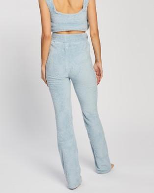 Dazie Heaven Fluffy Pants - Sweatpants (Baby Blue)