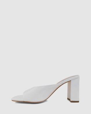 Sol Sana Esme Mules - Heels (White)