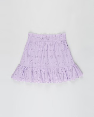 Free by Cotton On Celeste Skirt   Teens - Skirts (Summer Violet Broderie)