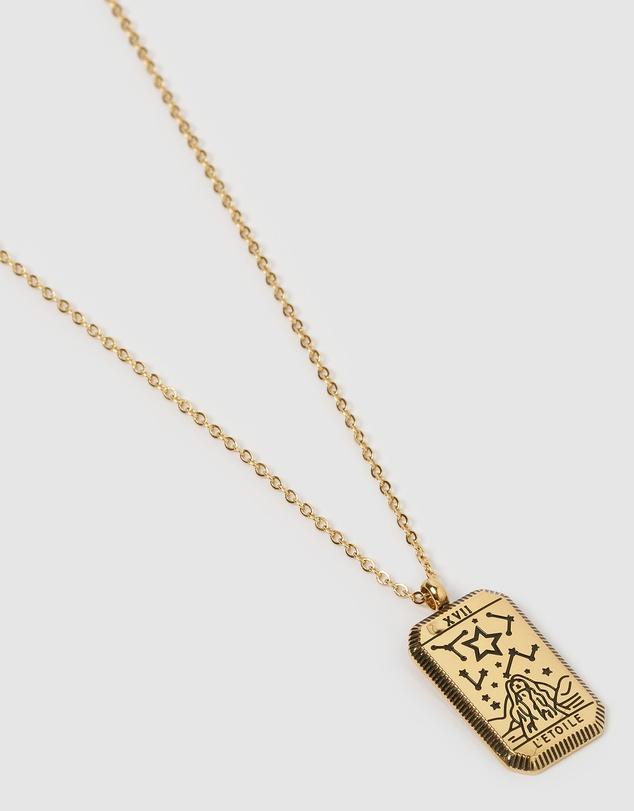 Women L'etoile Tarot Necklace