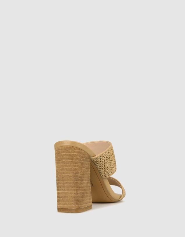 Women Picnic Block Heel Mules