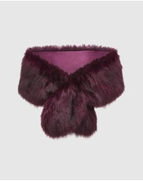 Forever New - Stephanie Faux Fur Scarf