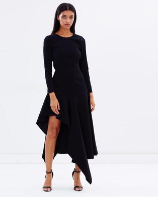 Talulah – Wonder LS Midi Dress – Dresses (Black)