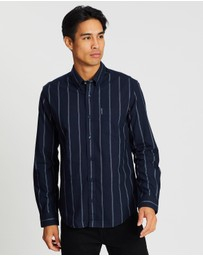 Ben Sherman - LS Twin Stripe Oxford Shirt