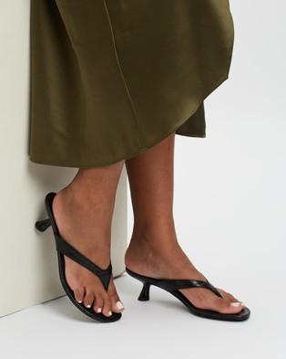 Therapy Mici Low Heels - Mid-low heels (Black Croc)