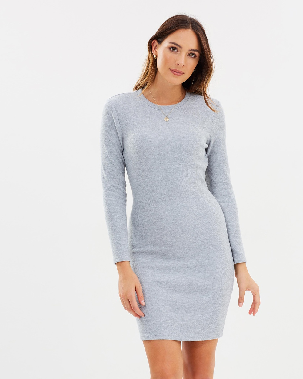 M.N.G Mico Dress Dresses Grey Mico Dress