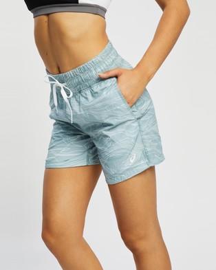 ASICS Airy Woven Shorts Smoke Blue
