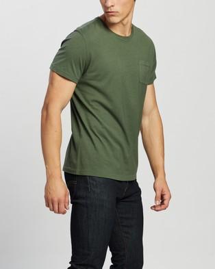 RRL Short Sleeve Pocket T Shirt - T-Shirts & Singlets (Picket Green)
