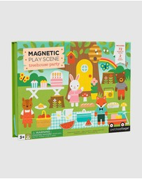Petit Collage - Magnetic Play Set - Treehouse Party
