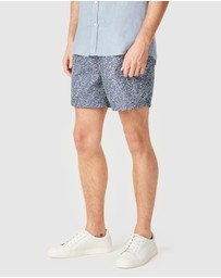 French Connection - Water Lily Board Shorts