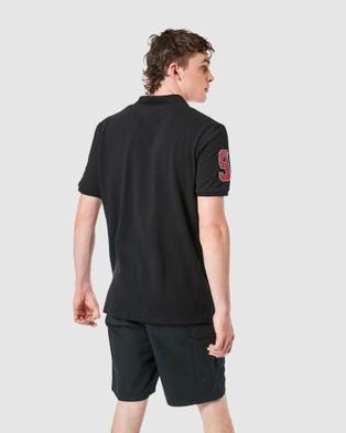 Elwood Heritage Polo - Shirts & Polos (Vintage Black)