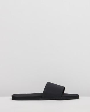 Indosole ESSENTLS Slides   Women's - Sandals (Black)