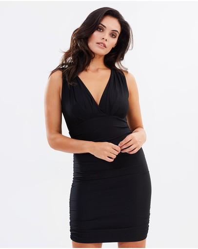 Skiva Bodycon Mini Dress Black