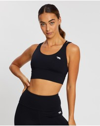 Running Bare - Lotus Trio Longline Sports Bra
