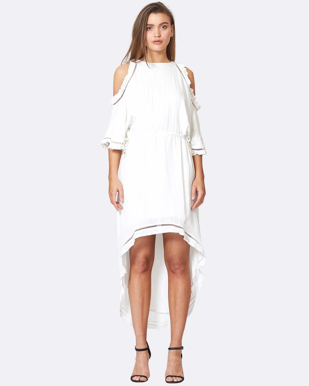 Three of Something Traveller Dress Dresses WHITE Traveller Dress
