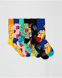 Happy Socks - Rolling Stones 6-Pack Gift Box