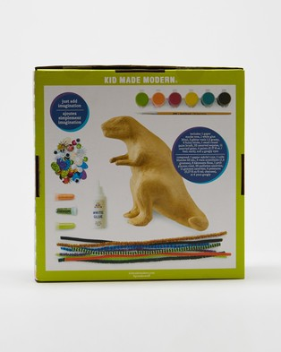 Kid Made Modern Paint Your Own Paper Mache Kit - All toys (T-Rex)