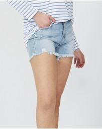 Decjuba Kids - Emma Denim Shorts - Kids-Teens
