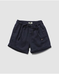 Academy Rookie - Volley Linen Shorts