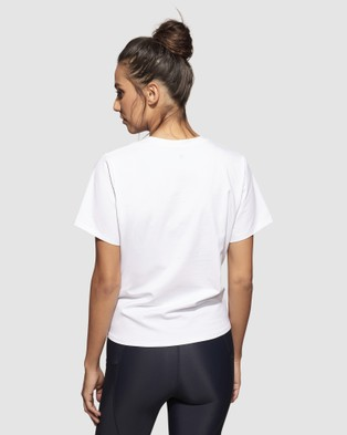 dk active - Poppy Top T-Shirts & Singlets (White)